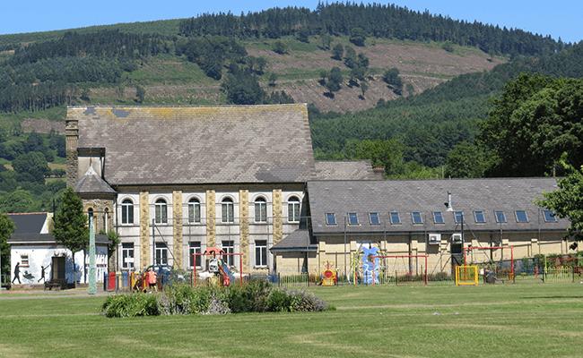Risca School Buildings