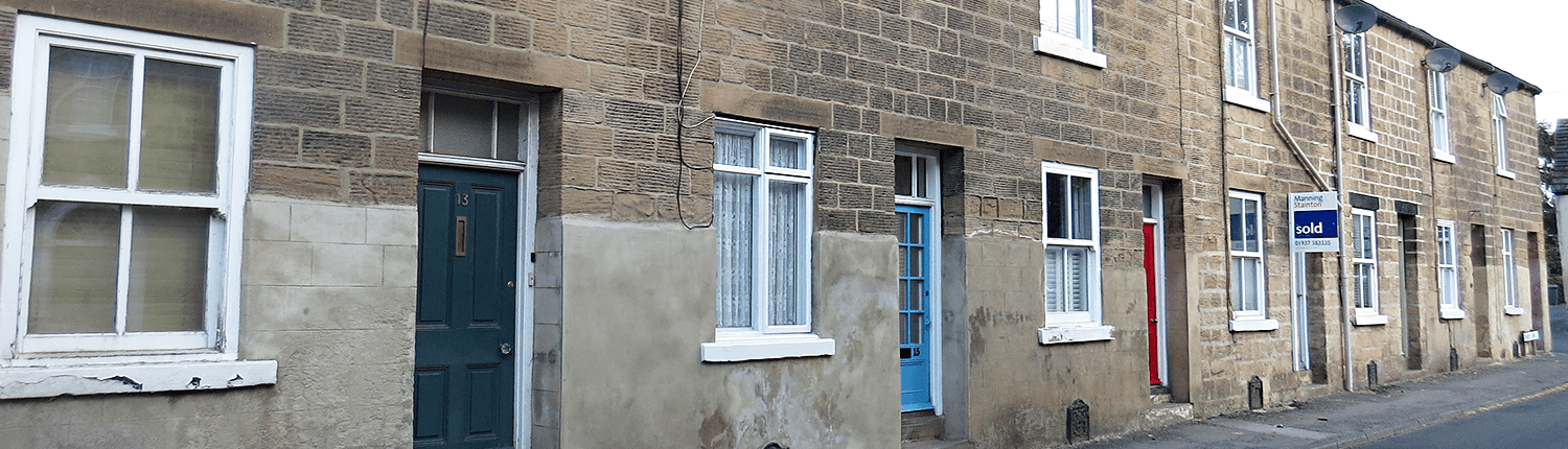 Terraced property, Thorner, West Yorkshire