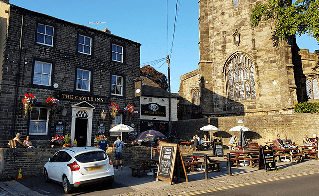 Skipton Castle Inn buildings
