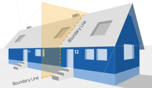 Party Wall illustration