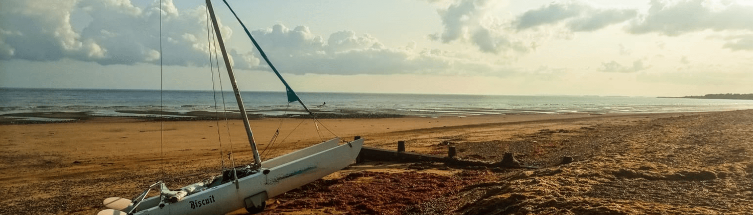 Boat on Littlehampton Beach