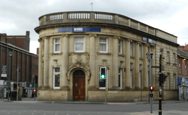 Royal Bank of Scotland Building Chesterfield