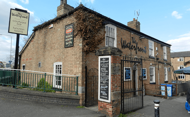 The Waterfront Public House in Worksop