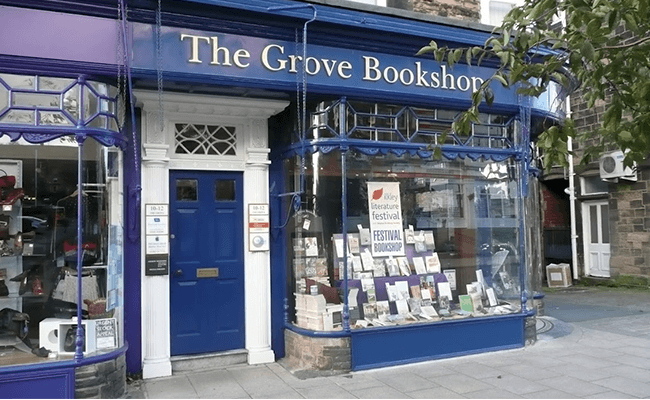 The Grove Bookshop in Ilkley