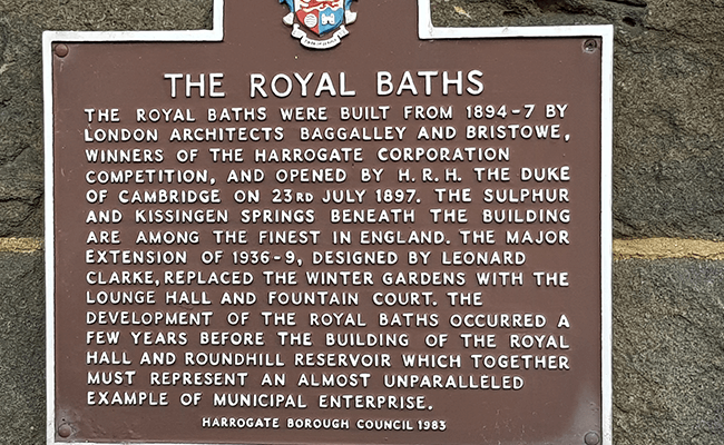 History of The Royal Baths, Harrogate