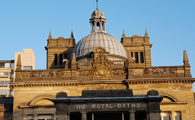 The Royal Baths building in Harrogate