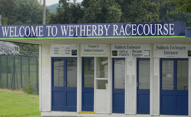 Wetherby Racecourse Entrance