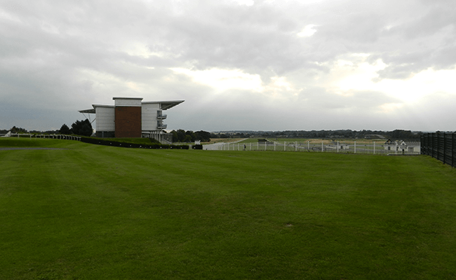 Wetherby Racecourse Home Straight