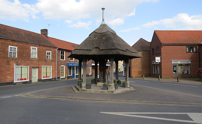 aylsham-village-pump-building