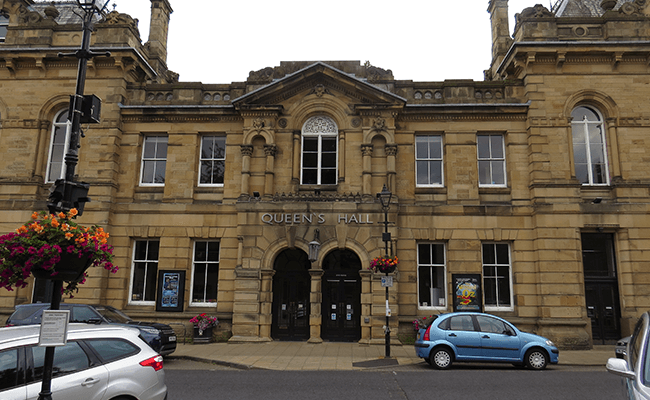 The Queens Hall Arts Centre in Hexham