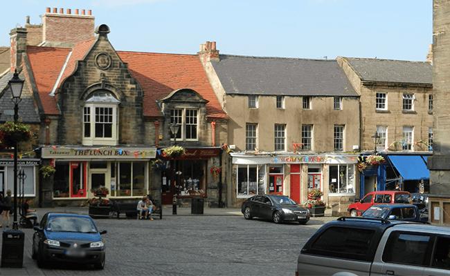 Alnwick Market Place