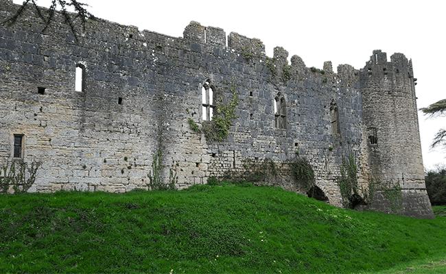 caldicot-castle-boundary