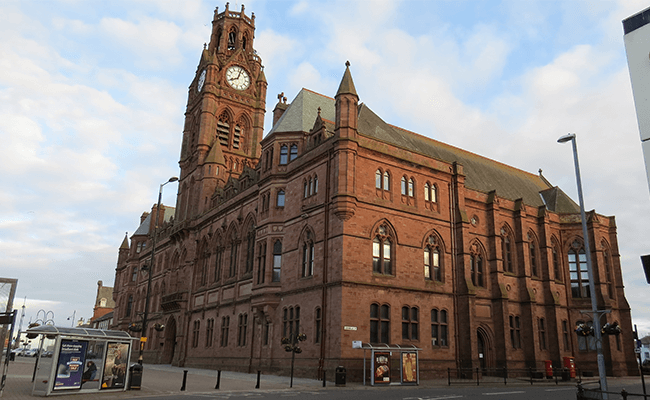 barrow-in-furness-town-hall-building