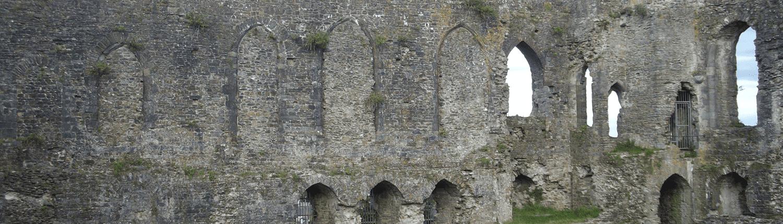 haverfordwest-castle-ruins