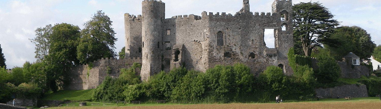 laugharne-castle-building