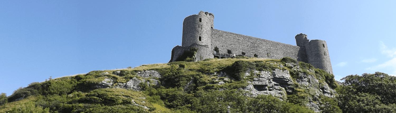 harlech-castle-building