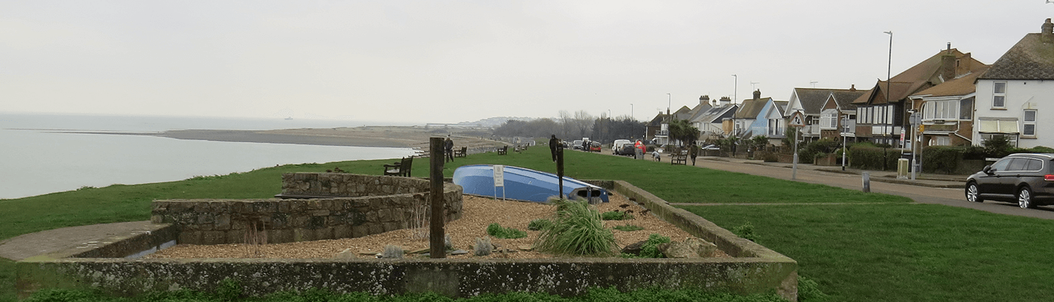 A view of Herne Bay from Swalecliffe